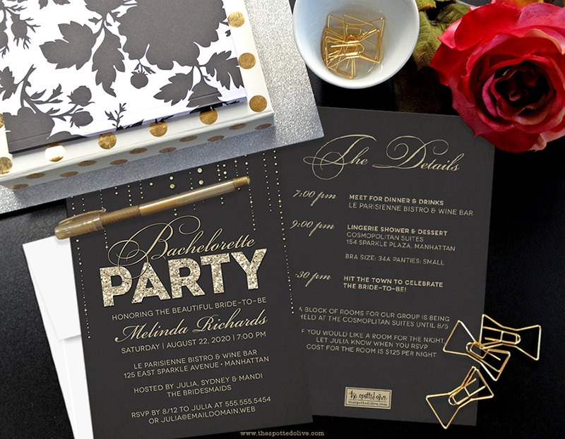 free printable bachelorette party invitations online - Picture Ideas ...