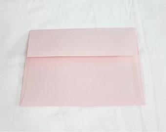 5x7 envelopes etsy 50 pastel pink 5x7 invitation envelopes set of 50 size a7 5 1 stopboris Image collections