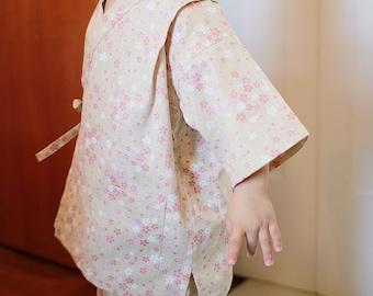 KIDS KIMONO - PDF e pattern - Kids Jinbei - size 2Y