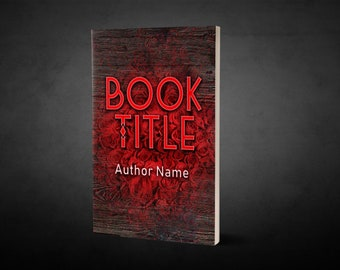 """Premade Ebook Cover """"Wood and Roses"""" Fiction Literary Fiction Romance Chic Lit"""