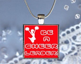 Pendant Necklace Cheer Leaders