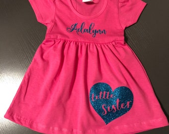 Little Sister Personalized Dress
