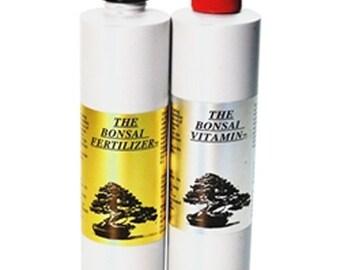 Fujiyama Fertilizer & Vitamin Combo - (2) 8oz Bottles (F90)