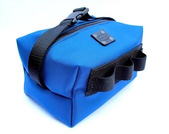 Ballistic Dopp Kit / Men's Travel Bag / Ballistic Nylon Dopp Kit / Large Shaving Bag / Men's Nylon Luggage / Water Resistant / Lined