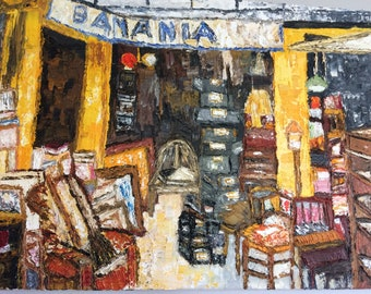 Old shop in Paris flea