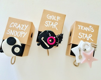 Golf Star necklace, you're collection