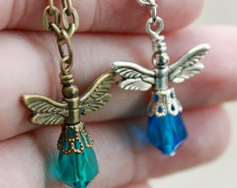 """Your choice - fancy firefly pendant with 18"""" chain"""