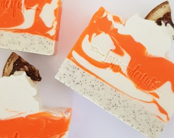 Clementine Cold Process Vegan Artisan Soap Bar