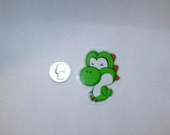 Yoshi Fan art Stickers and Yoshi Eggs