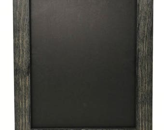 """12x18 1.75"""" Rustic Black Solid Wood Picture Frame"""