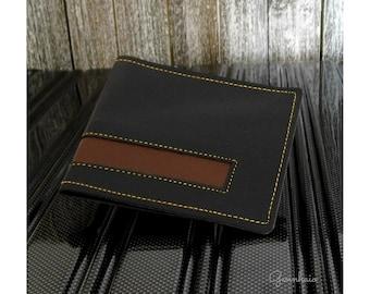 Credit Card Holder For Men, Black Card Holder, Vegan Leather Card Holder, Minimalist Wallet For Men, Gift Idea For Men