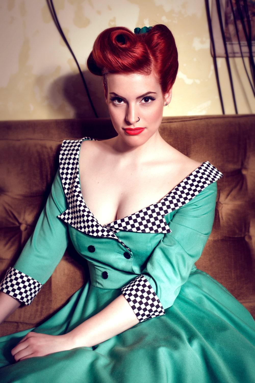 1950s fashion pin up