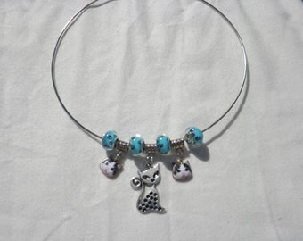 """""""cats"""" necklace"""""""
