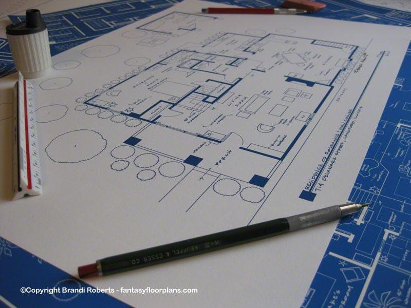 Roseanne Dan Conner TV Home Floor Plan Poster Fictional – Bree Van De Kamp House Floor Plan