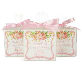 Sweet 16 Party Favors - Free Shipping - Girls Favors - Personalized With Your Very Own Name