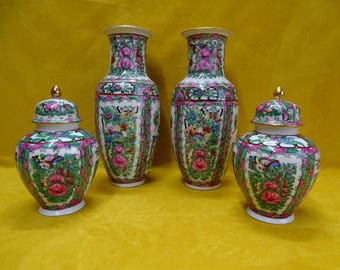 Guangzhou cabinet set, China 6-piece porcelain