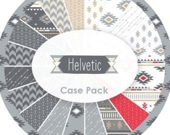"""Southwest Style Fabric Jelly Roll Quilt Fabric Maywood Studio """"Helvetic"""" Precut strips 40 - 2.5"""" wide - 100% Cotton Fabric Sushi Roll"""