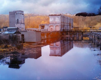 Silent Mill #1, Color Infrared