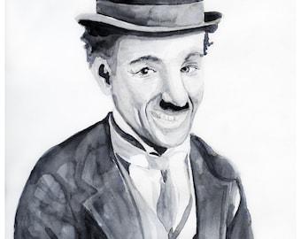 Charlie Chaplin portrait
