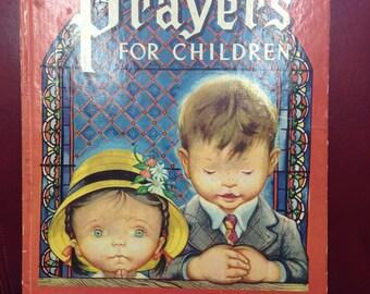 Prayers for Children.  A Big Golden Book