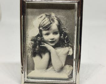 Vintage small  silver picture frame. Dutch hallmarked.