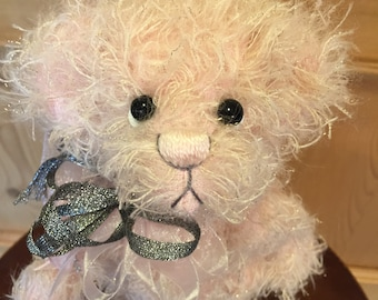 SPARKLE: a handmade artist teddy bear from Jazzbears