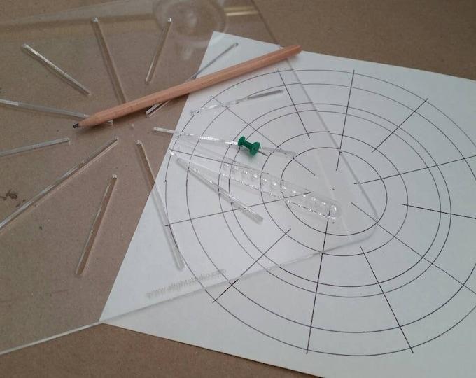 Mandala Drawing Kit