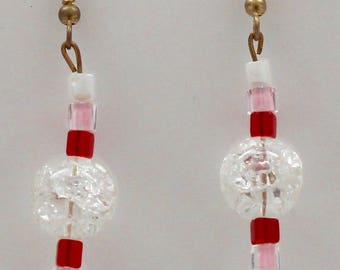 Classy Valentine's day earrings