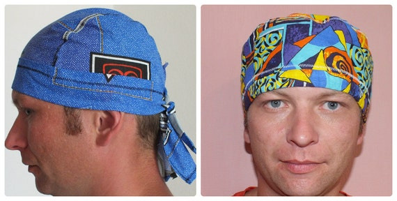 SEWING PATTERN Scrub hats 2 scrub cap sewing pattern surgical hat ...