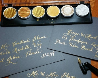 Custom Hand Penned Calligraphy - Anne Font