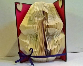 ANCHOR  folded book art