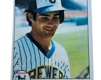 1979 Topps Paul Molitor Milwaukee Brewers #24 Baseball Card (EX-MT)