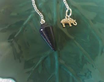 Bluestone/Sandstone/Bluestone Pendulum /Crystal Healing Stone/Dowsing/Pendulum
