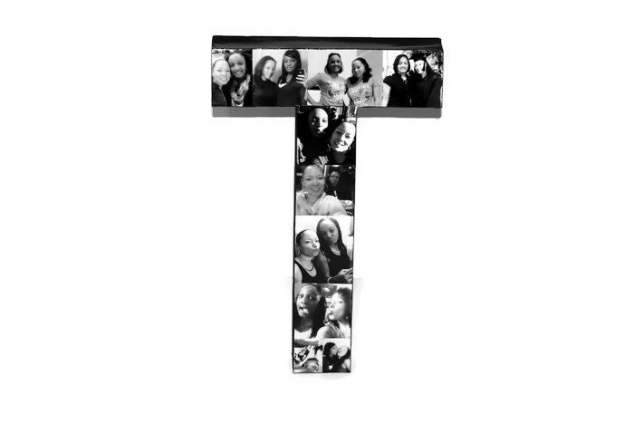 3D 16 Huge Photo letter collage Gift Picture Frame Children\'s ...