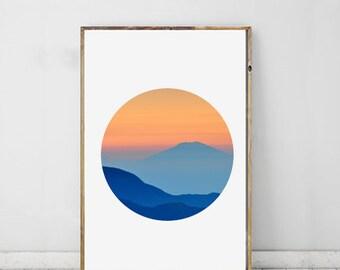 Sunset Photography, Nature Art, Landscape Print, Sunset Art, Landscape Photography, Printable Art, Wall Decor Modern Photography