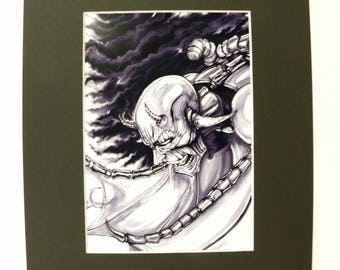 BounD - Seth - 5x7 art print; 8x10 mat included; free shipping