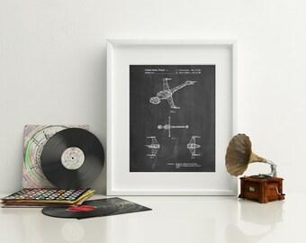 Star Wars B-Wing Starfighter Patent Poster, Return of the Jedi, Star Wars Gift, Movie Wall Art, Star Wars Ships, Starwars Baby,  PP0096