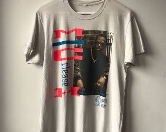 VERY RARE Distressed 90s 1990 Vintage MC Hammer Don't Hurt 'Em ' U Can't Touch This' Hip Hop Tee T-shirt