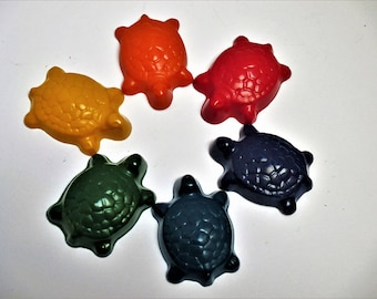 Trutle crayons, party favors, goody bags, turtle party