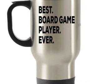 Board Game Player Travel mug, Board Game Player Gifts, Best Board Game Player Ever, Stainless Steel , Insulated Tumblers, Christmas Present
