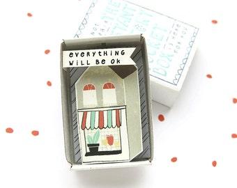 De Instant Comfort Pocket Box - huisje - troost gift - vrolijken cadeau