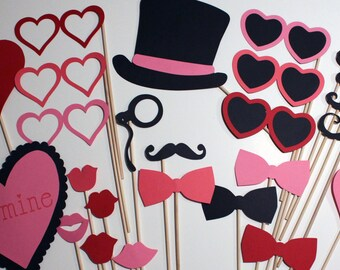 ValentinePhoto Booth Props - Awesome Photobooth Props for a Special Valentine's Day