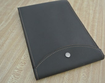Leather Steno Notepad Case