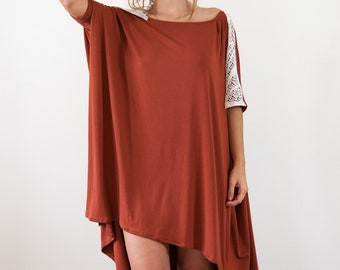 Sabi asymmetrical tunic dress