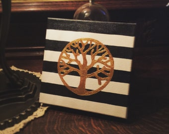 9x9 Tree of Life painting