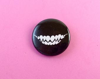 "Smile 1.25"" Pinback Button"