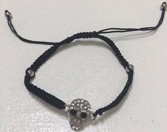 Skull Bling Bracelet