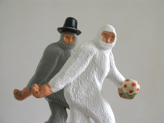 Bigfoot Cake Toppers