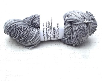 Dirty Dye Works Yarn, Grey Variegated Gray, Yarn Destash