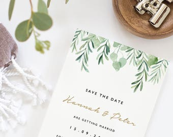 Diy save the date etsy editable save the date template printable save the dates diy save the date junglespirit Images